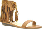 Volatile Women's Aubrey Fringed Ankle Cuff Sandal