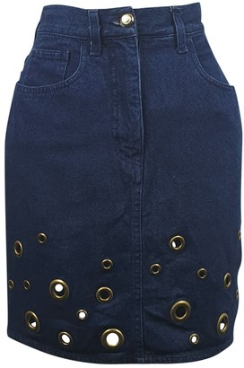 Moschino Blue Denim - Jeans Skirt for Women Vintage