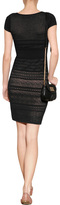 Catherine Malandrino Knit Dress in Black