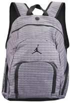Jordan Boys Grey 23 Print Backpack (Grey & Black) Or Black