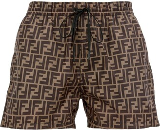 Fendi FF logo swim shorts