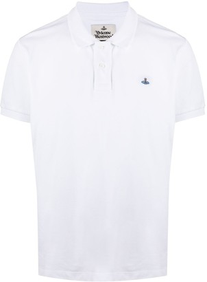 Vivienne Westwood Embroidered Logo Polo Shirt