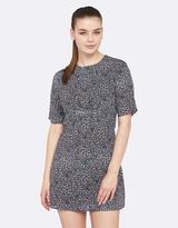 Oxford Carmen Abstract Print Dress