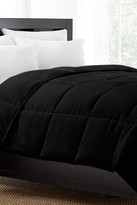 Exquisite Hotel Collection 220 Thread Count Down Alternative Comforter - Black
