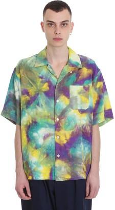 Marni Shirt In Multicolor Cotton