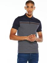 Very S/S Printed Stripe Polo