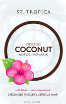St. Tropica Organic Coconut Hot Oil Hair Mask with Biotin + Superfoods