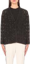 Brunello Cucinelli Sequinned cashmere-blend cardigan