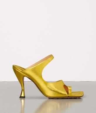 Bottega Veneta Sandals In Lame Calf