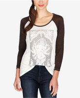 Lucky Brand Ganesh Graphic Top
