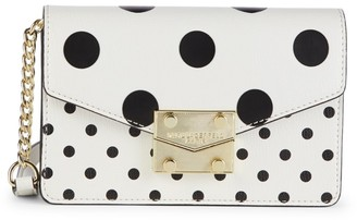 Karl Lagerfeld Paris Polka Dot Crossbody Bag