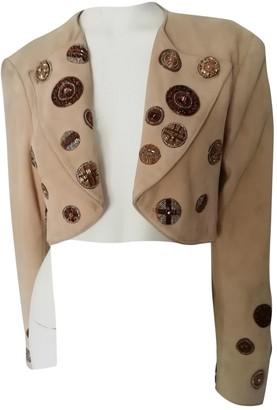 Jitrois Camel Suede Jackets