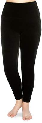 Spanx Plus High-Waist Velvet Leggings