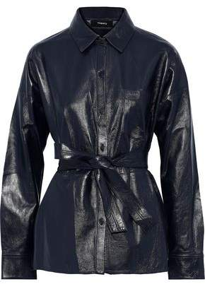 Theory Lourah Leather Jacket