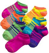 Gold Toe Girls 7-16 GOLDTOE 7-pk. Striped Liner Socks