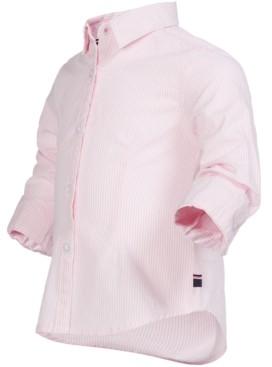 Tommy Hilfiger Little Girls Ithaca Striped Cotton Shirt