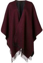 Rag & Bone fringed ends shawl scarf