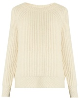 Nili Lotan Penelope ribbed-knit alpaca-blend sweater