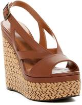 Aquatalia Carly Waterproof Espadrille Wedge Sandal