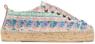 Manebi Los Angeles Lurex-tweed Espadrille Sneakers
