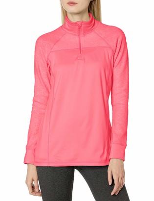 Jockey Women's Burnout Microfleece Half Zip Top