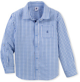 Petit Bateau Boys gingham shirt