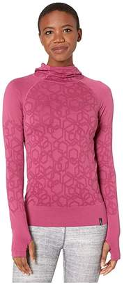 Craft Charge Fuseknit Long Sleeve Hood Tee (Cure) Women's Clothing