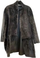 Celine Grey Shearling Jackets