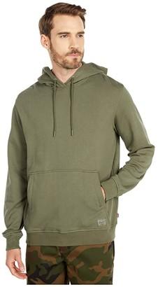 Herschel Pullover Hoodie (Dusty Olive) Men's Clothing