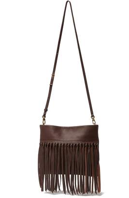The Sak Collective Tomboy Convertible Leather Fringe Clutch