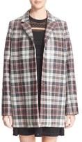 McQ by Alexander McQueen Women's Check Boyfriend Coat