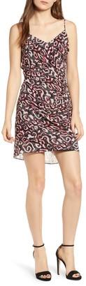 Rebecca Minkoff Kinsley Patterned Shirred Dress