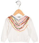 Junior Gaultier Girls' Printed Cardigan w/ Tags