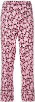 Marni Plume print trousers