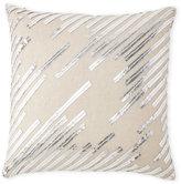 cloud 9 Faux Leather Lines Pillow
