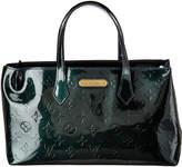 Louis Vuitton Midnight Blue Monogram Vernis Leather Wilshire Pm