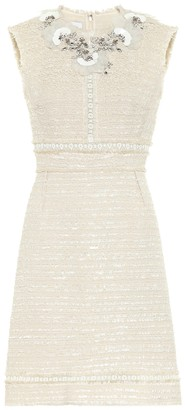 Giambattista Valli Embellished cotton-blend dress