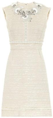 Giambattista Valli Embellished cotton-blend dress