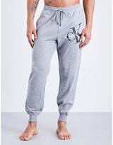 Calvin Klein Logo-detail Jersey Jogging Bottoms