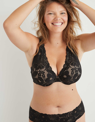 aerie Real Power Plunge Unlined Bra