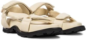 Jil Sander Leather sandals