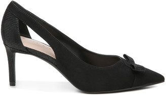 Women's Zonya Pumps Black Size 5 Faux suede or faux leather upper From Sole Society