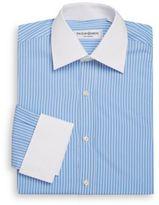 Saint Laurent Regular-Fit Contrast Bengal Stripe Dress Shirt & Gift Box