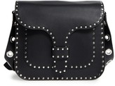 Rebecca Minkoff Large Midnighter Leather Crossbody Bag - Black