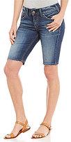 Silver Jeans Co. Elyse Super Stretch Denim Bermuda Shorts