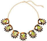 Catherine Stein Tortoiseshell-Look & Olive Necklace