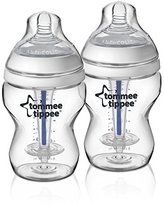 Tommee Tippee Sensitive Tummy Bottle, 2 Count by