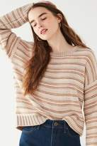 Urban Outfitters Hallie Striped Crew-Neck Sweater