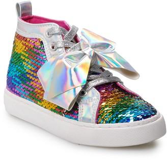 Jo-Jo JoJo Siwa Rainbow Sequin Girls' High Top Shoes