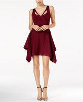 GUESS Cutout Handkerchief Dress